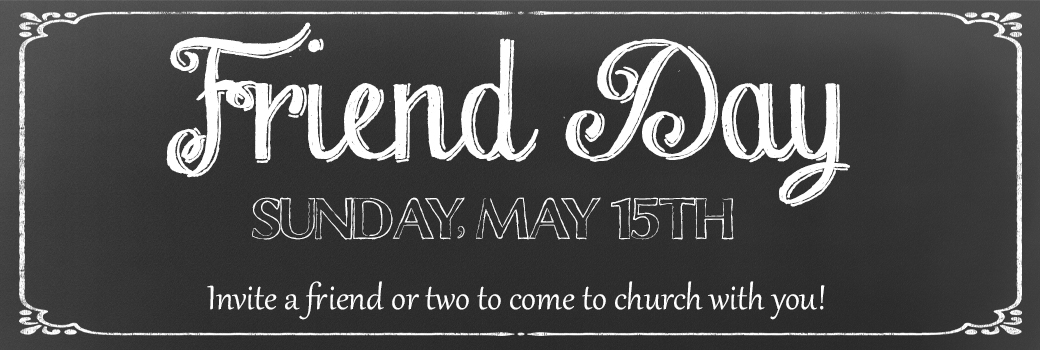 Special Service – Friend Day
